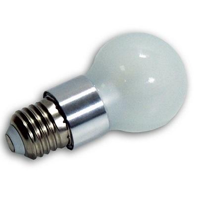Bombilla led 5 watios esf rica opal e27 - Luces dicroicas led ...