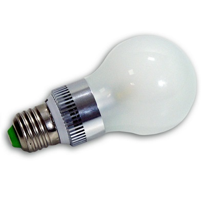 Bombilla led 7 watios esf rica opal e27 - Luces dicroicas led ...