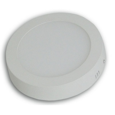 Downlight Led redondo superficie 12 w