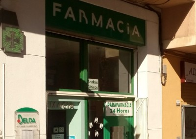 Iluminación Led Farmacia