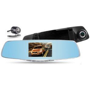 Retrovisor video grabador gwinled dvr-4.3