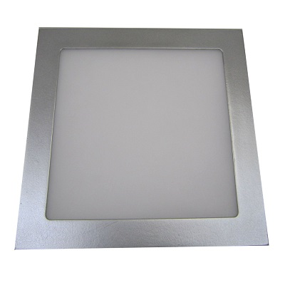 Downlight Cuadrado Gris Plata