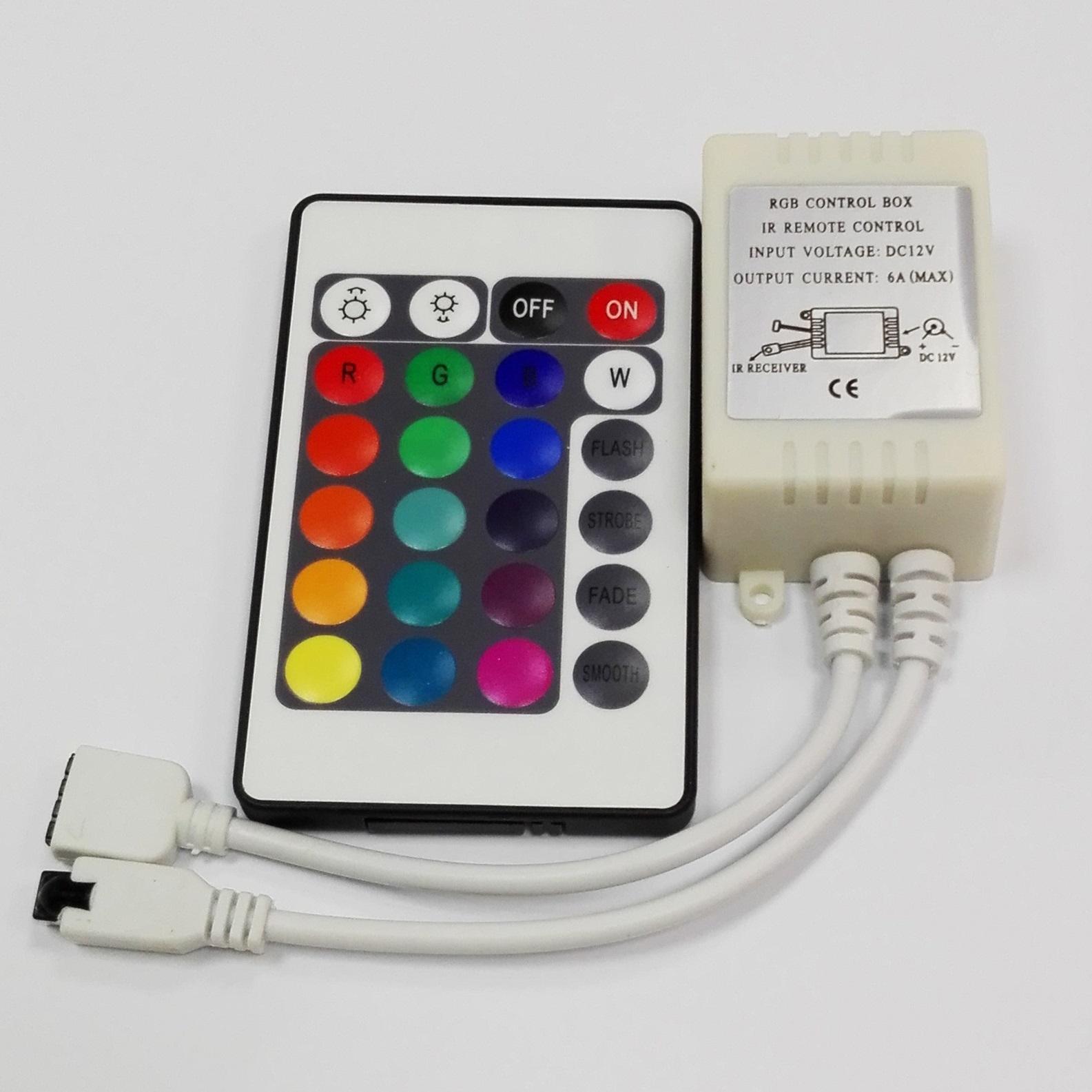controlador RGB 5 metros